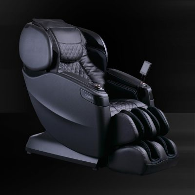 Cozzia Black Leather Seat Slight Side