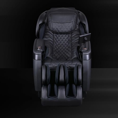 Cozzia Black Leather Seat Front