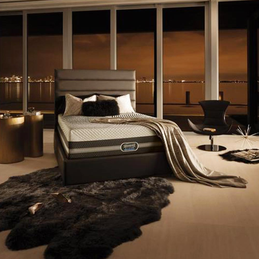Simmons Beautyrest Black Ice Scarlett Starting at $75month
