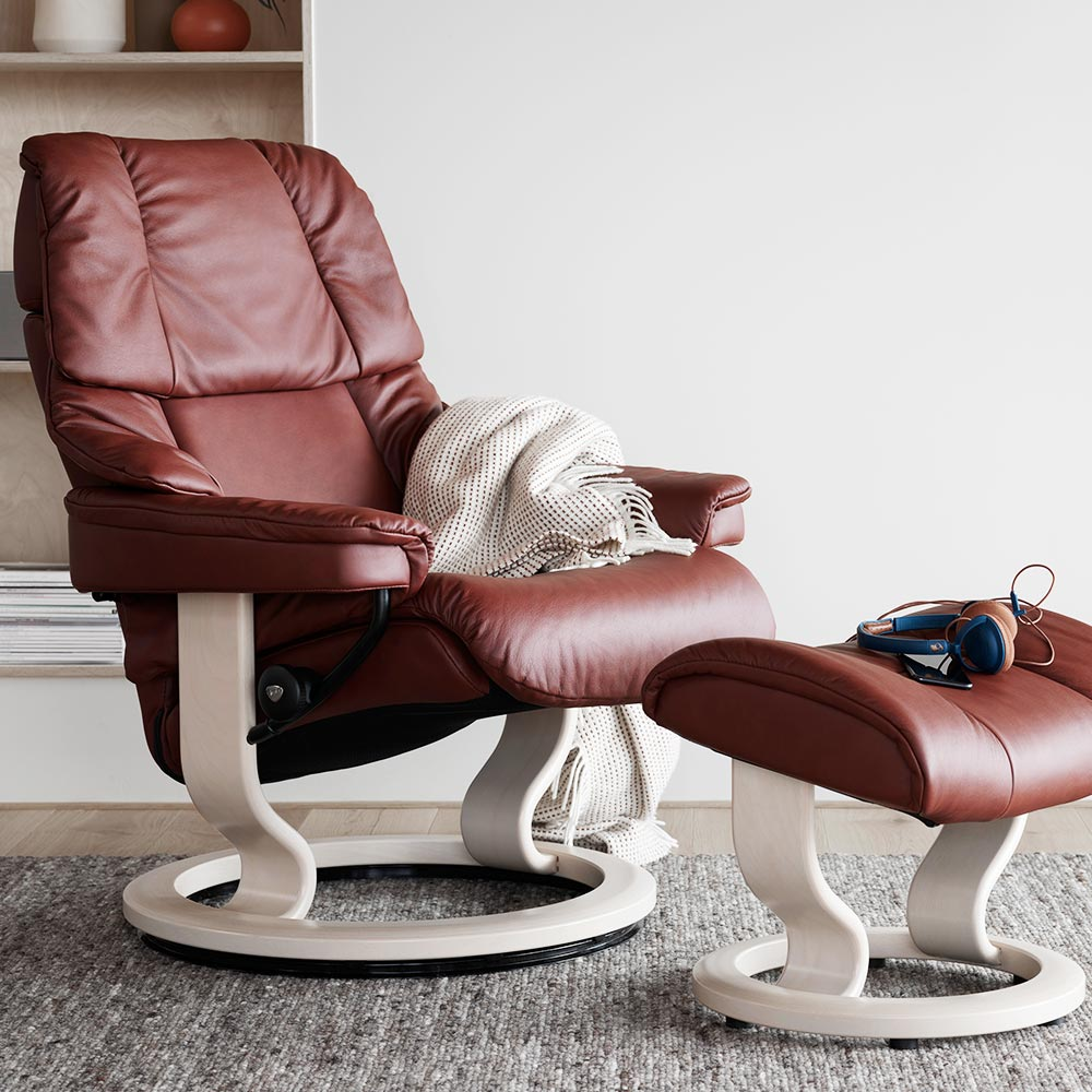 Reno Classic Chair And Ottoman Rest Amp Relax