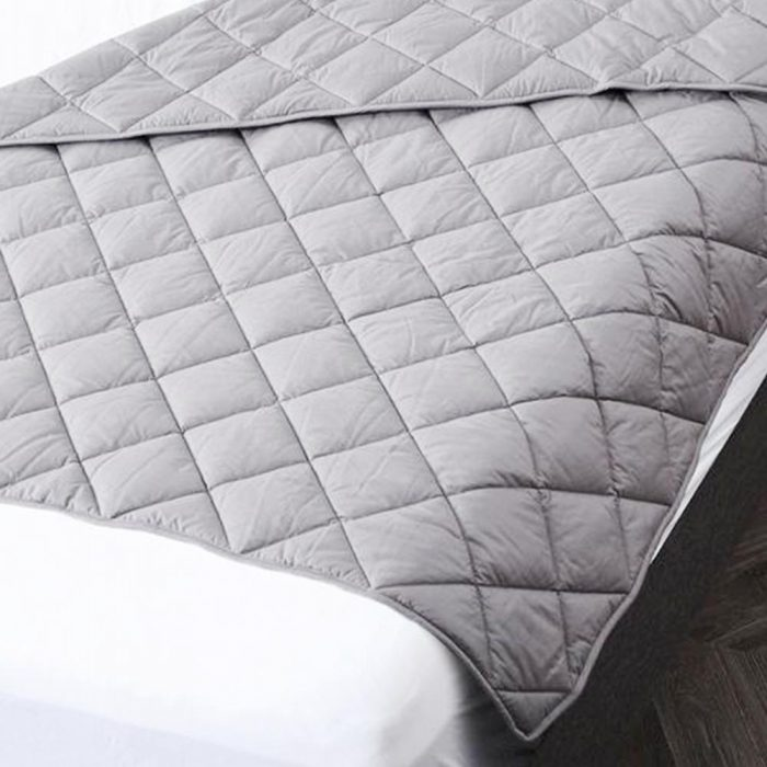 Grey BlanQuil Weighted Blanket