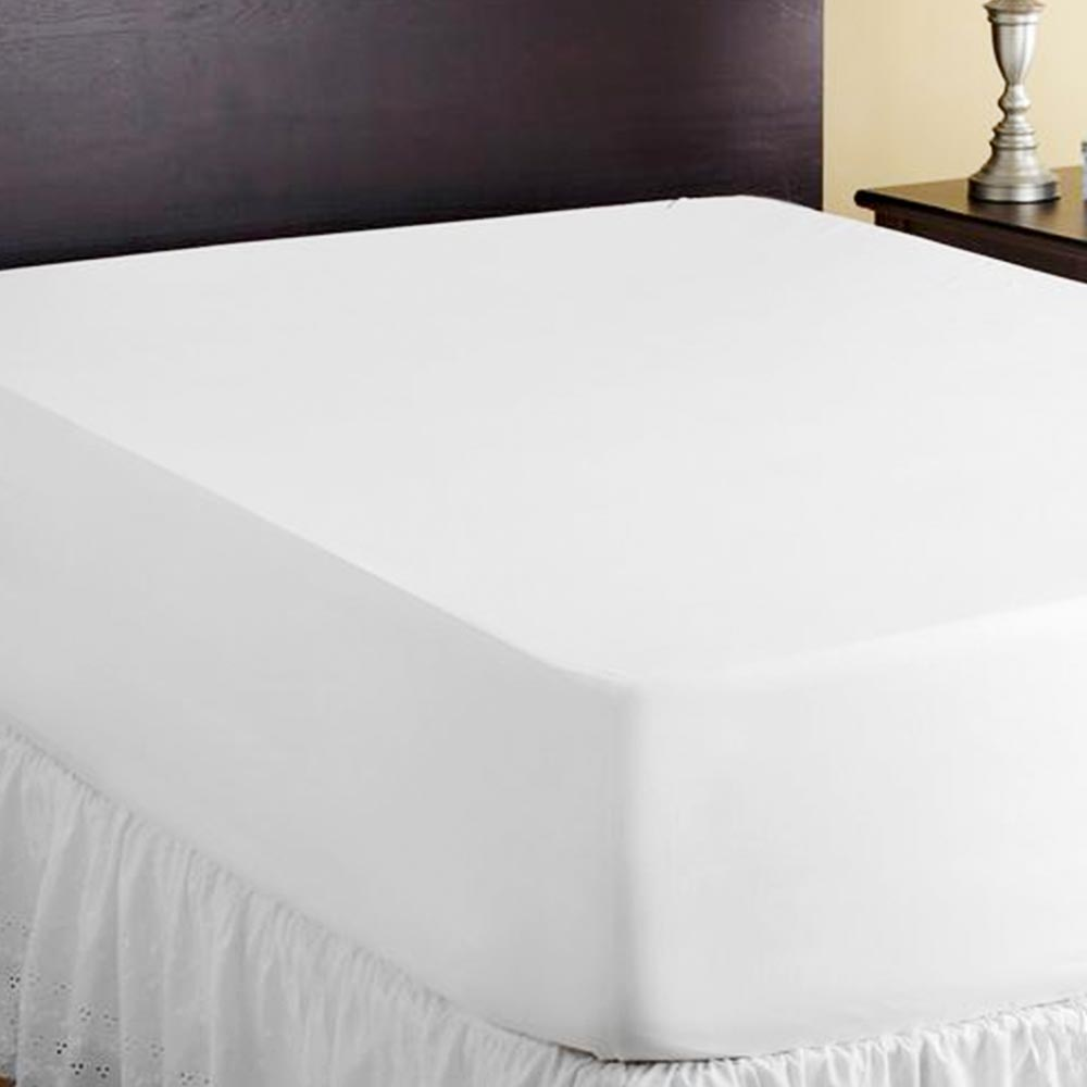 Clean White Mattress Sheets